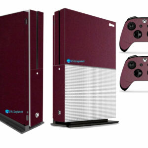 Adesivo Skin Xbox One S Pelicula Metalico Malbec
