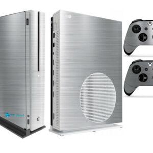 Adesivo Skin Xbox One S V2 Pelicula Cromo Escovado