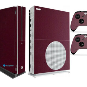 Adesivo Skin Xbox One S V2 Pelicula Metalico Malbec
