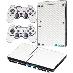 Adesivo Skin Playstation 2 Slim PS2 V2 Pelicula Transparente