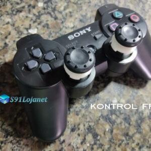 Kontrol Freek Analogico Controle PS3 FPS Shooter Tiro Extensor Protetor Grip Cor Preto
