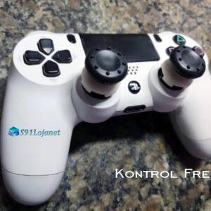 Kontrol Freek Analogico Controle PS4 FPS Shooter Tiro Extensor Protetor Grip Cor Preto