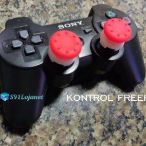 Kontrol Freek Analogico Controle PS3 FPS Shooter Tiro Extensor Protetor Grip Cor Vermelho