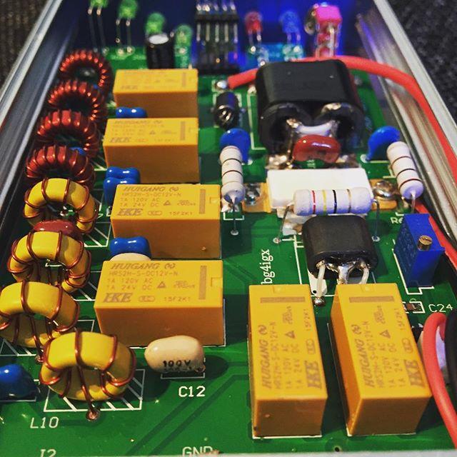 A little bit more power for the 817! #mxp50m #amplifier #qrp #hamradio #hamradiouk #amateurfunk #amateuradio #sa6bwx #hf #shortwave