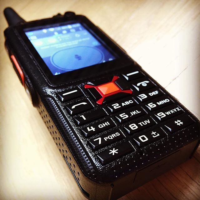 New Network radio. Or does it count as a radio? Maybe phone is better.. #f22+ #wcdma #wifi #sa6bwx #hamradio #hamradiouk #amateuradio #android #zello #ptt #irn #echolink