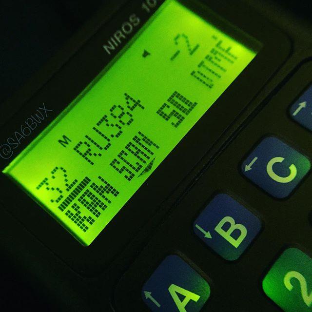 Screen on the Niros 1001. #niros #trx1001 #ericsson #p505 #70cm #434mhz #ru384 #sk6lk #repeater #sa6bwx #hamradio #hamradiouk #amateurfunk #amateurradio