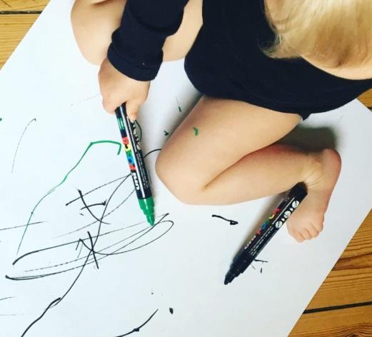 kreative børn