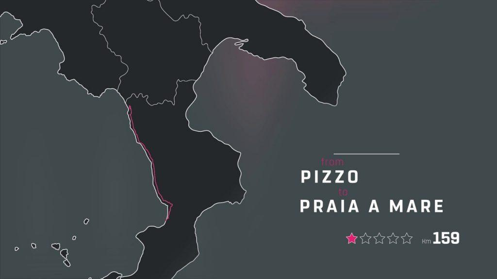 Giro d'Italia 2018 a Praia a Mare