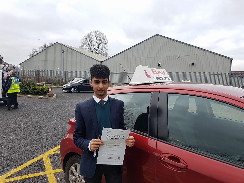 Saif driving school blackburn