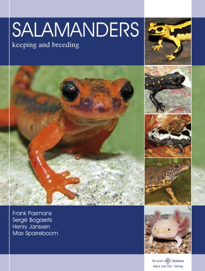 Nieuw Boek: 'Salamanders – Keeping And Breeding'