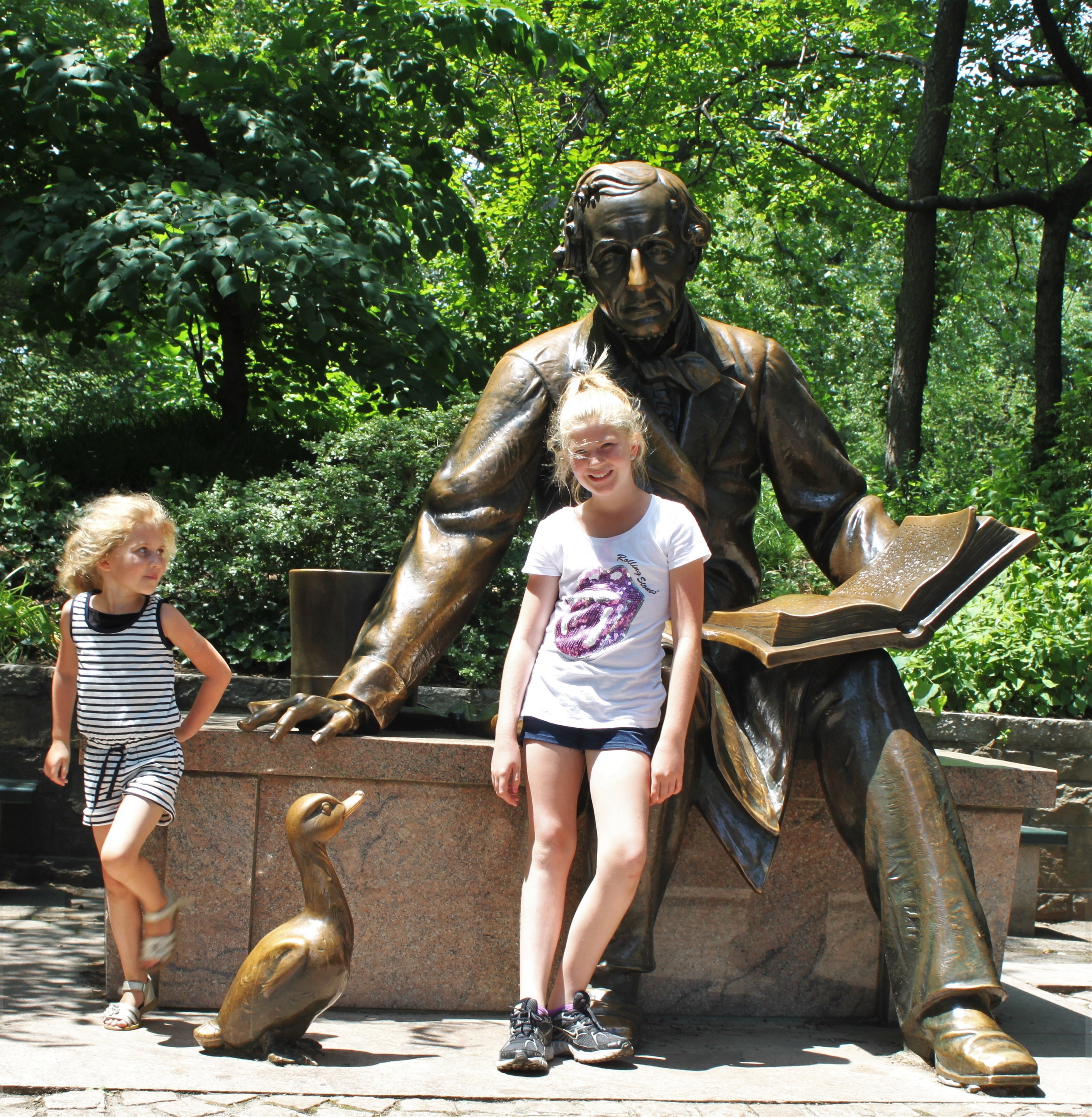New York med børn