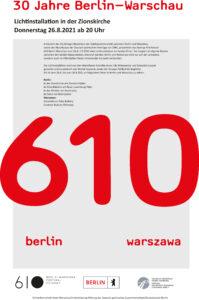 Festival 610 Berlin Warszawa Salon Am Moritzplatz