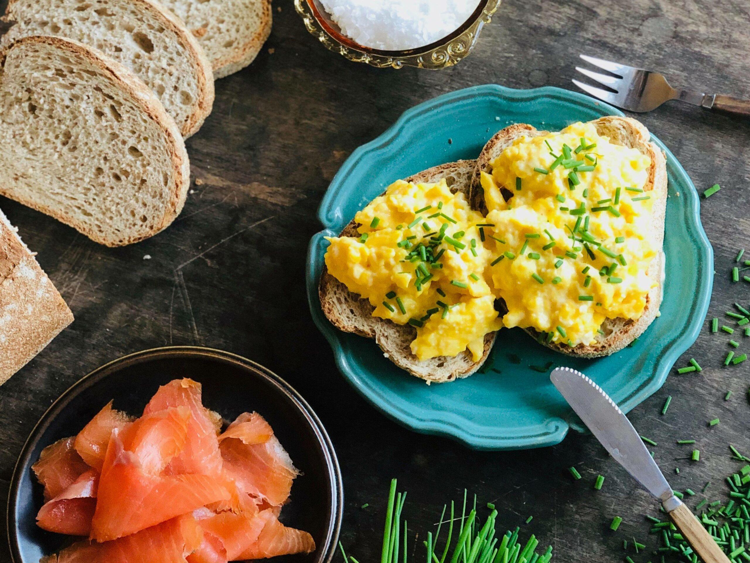 Kremet eggerøre