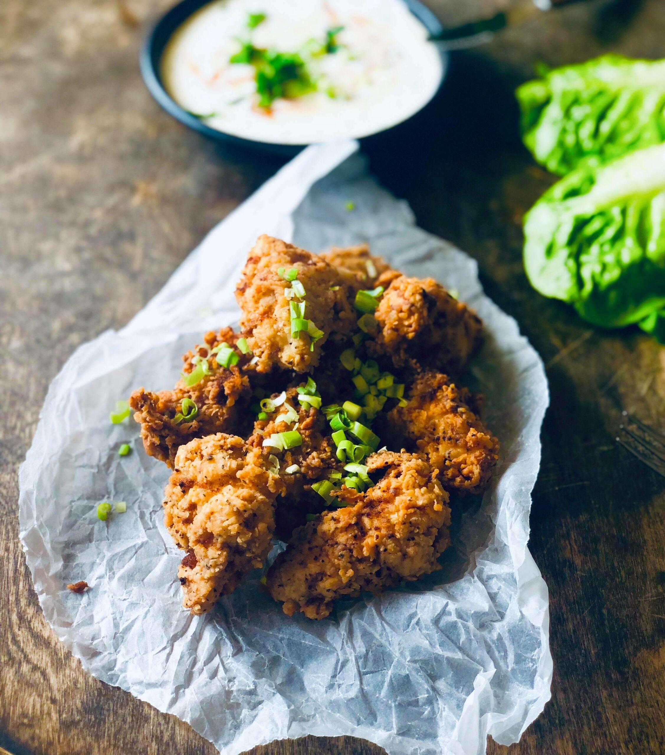 Super crispy chicken