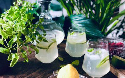Sommerlig lemonade