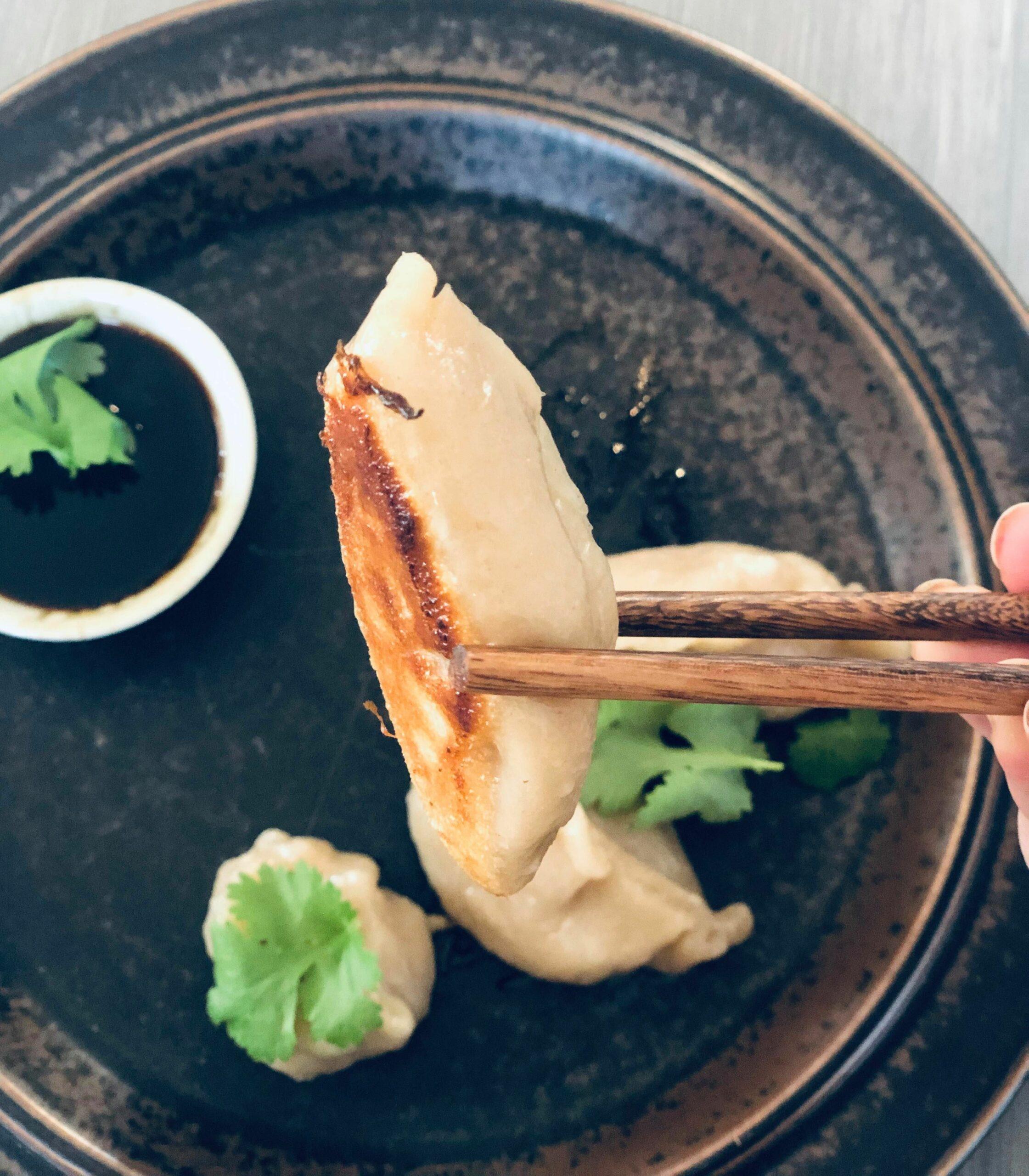 Stekte dumplings