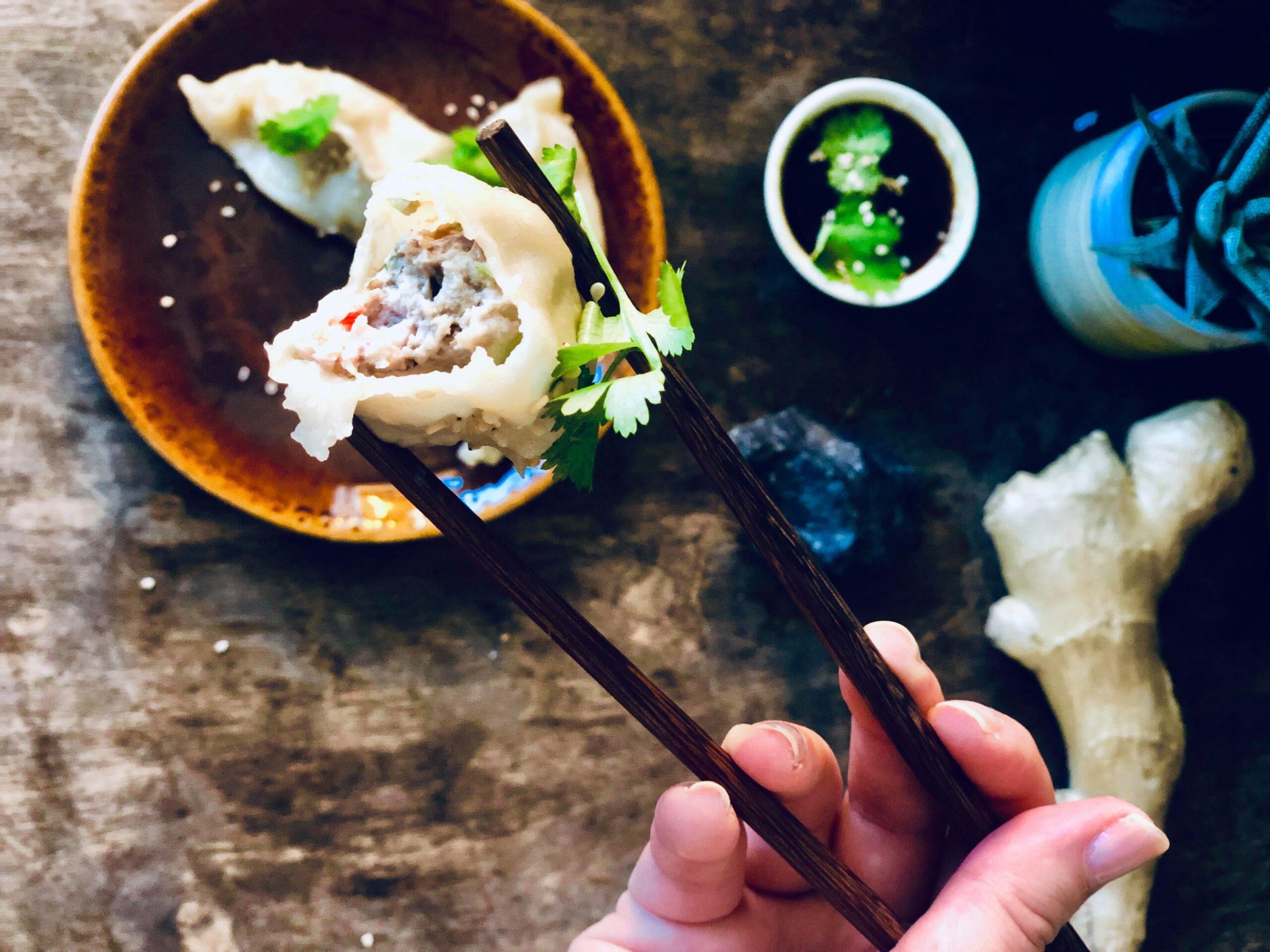 Kjempegode dumplings