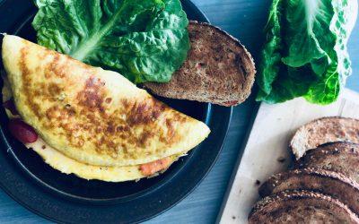 Toppa omelett med mye smak