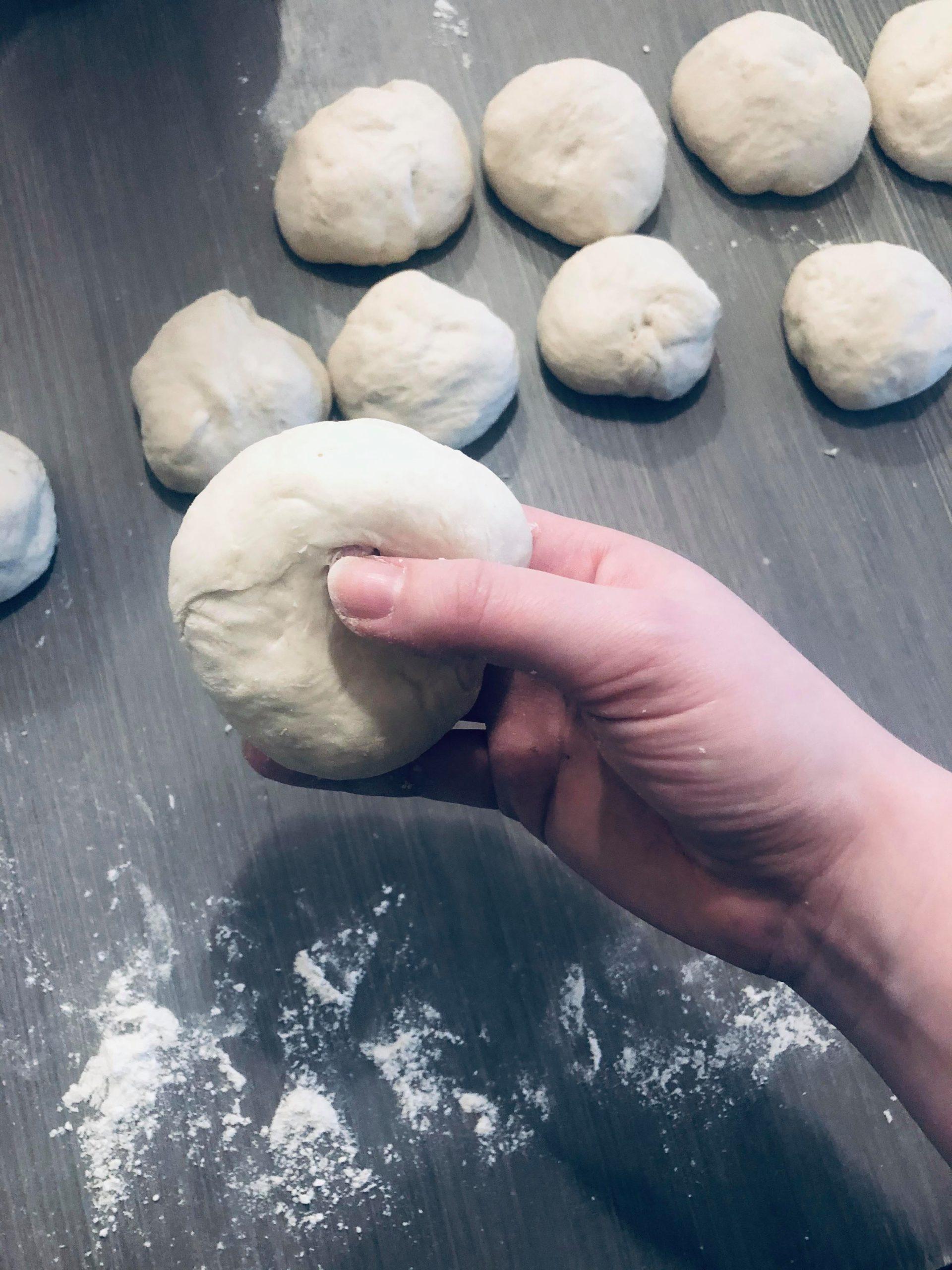 Hjemmelagde bagels
