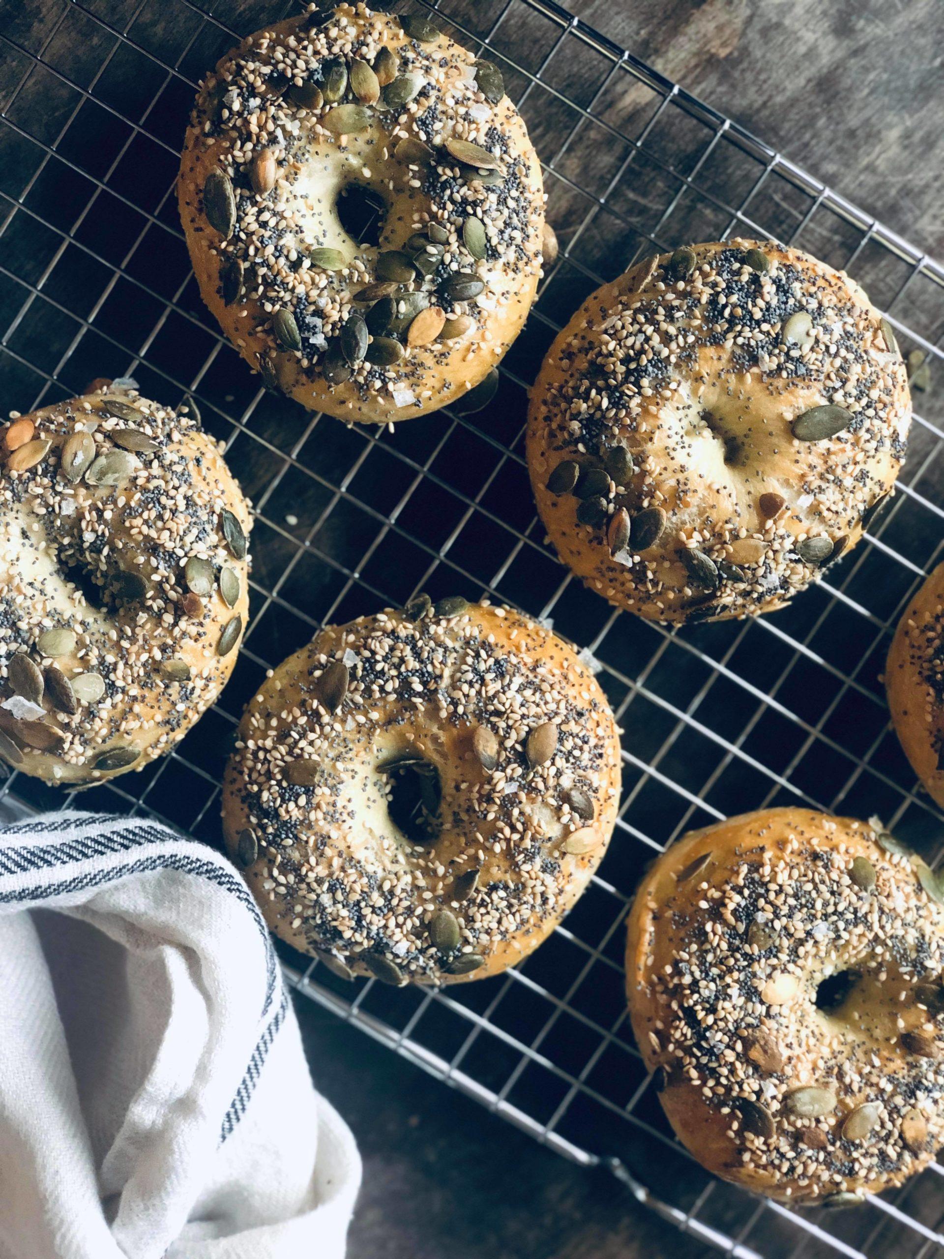 Hjemmelaget bagels