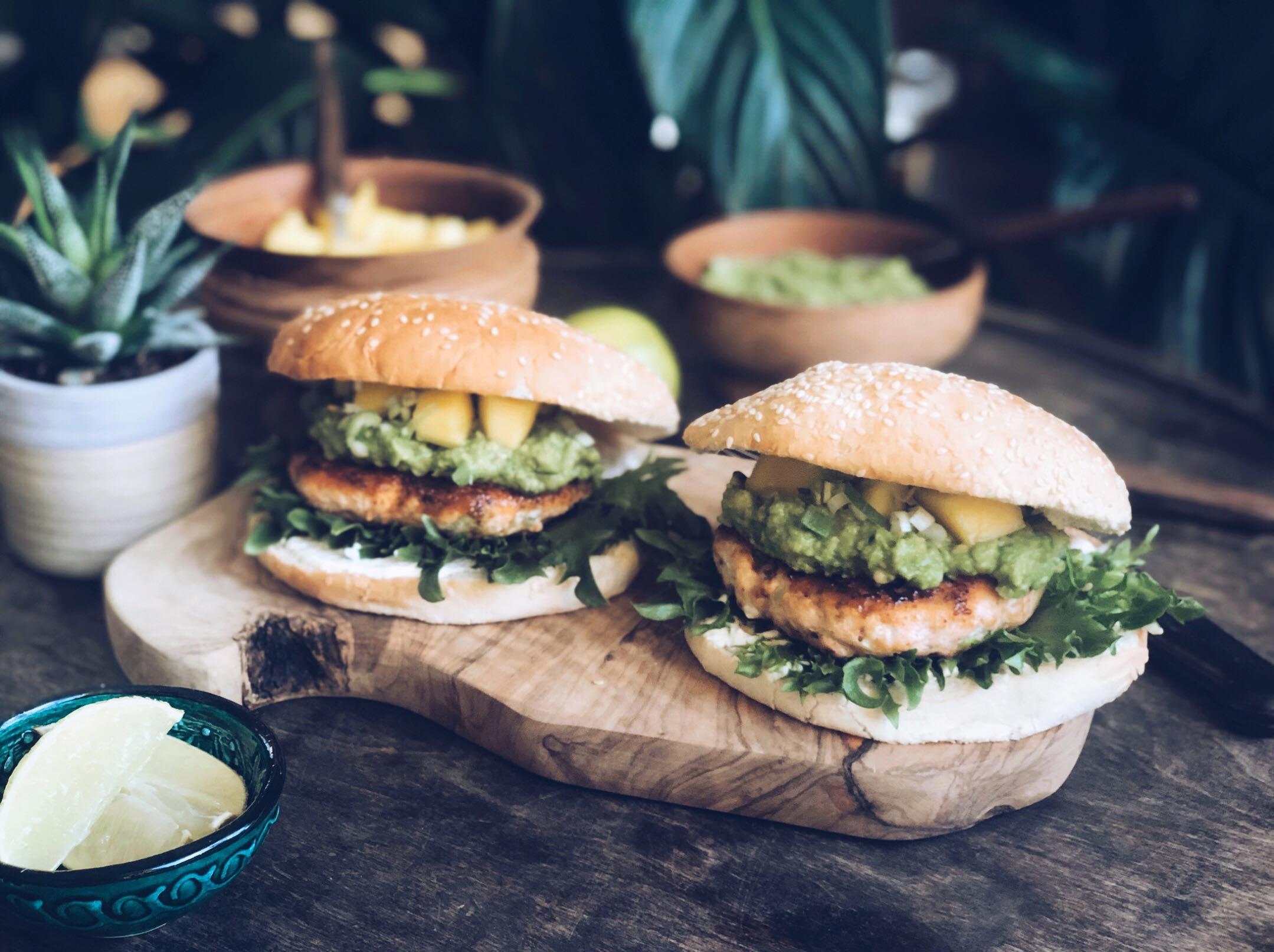 Smakfull lakseburger