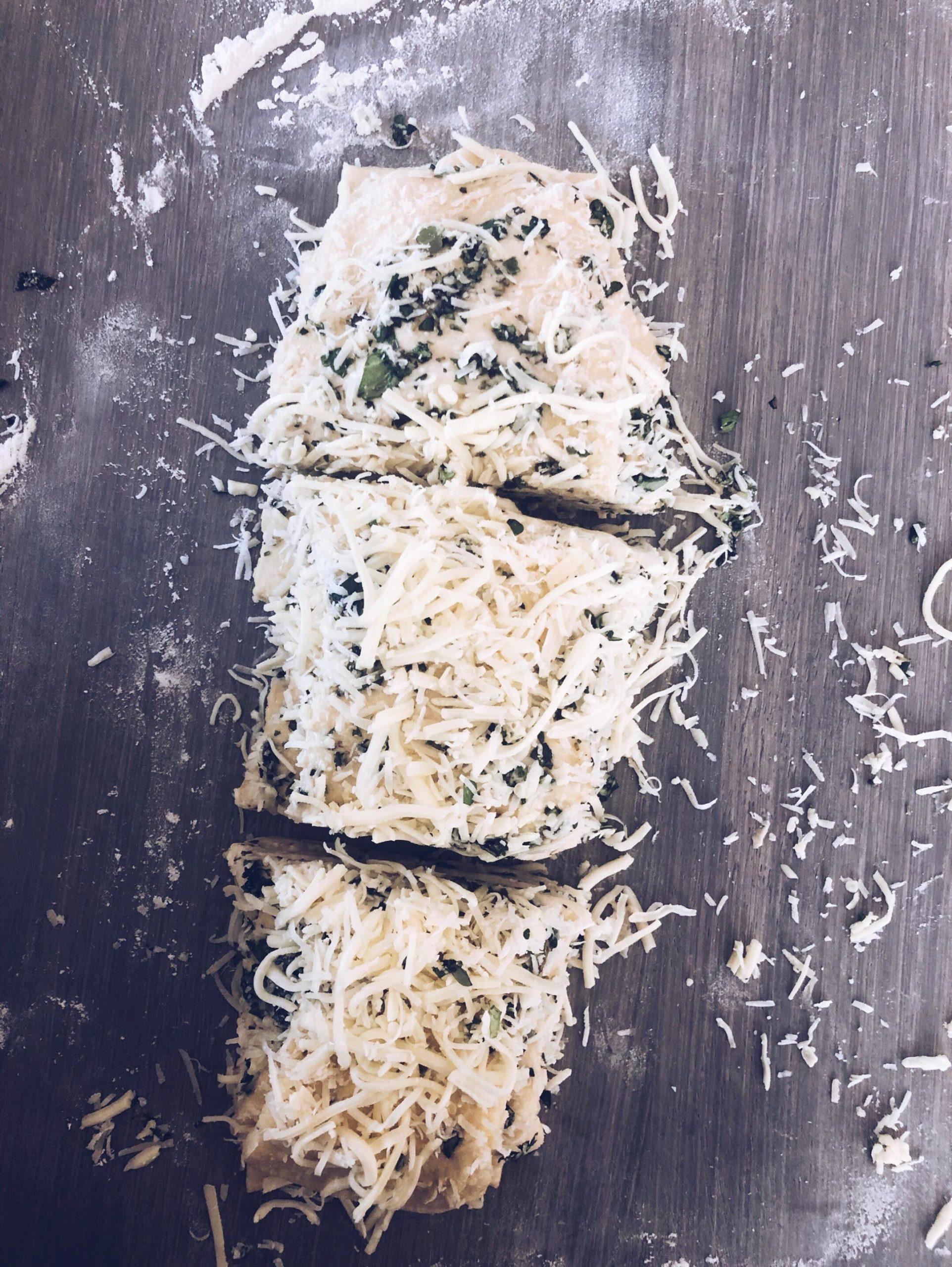 Stablebrød med parmesan