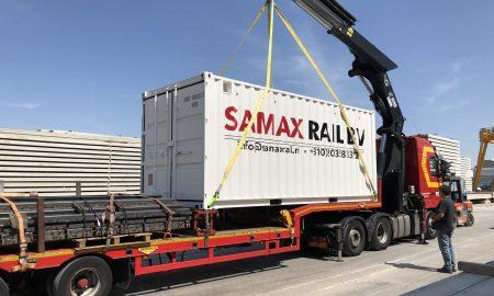 Samax kraanrail