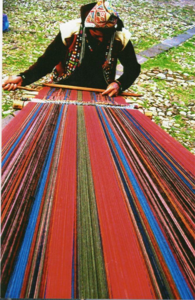 Peru-weaving