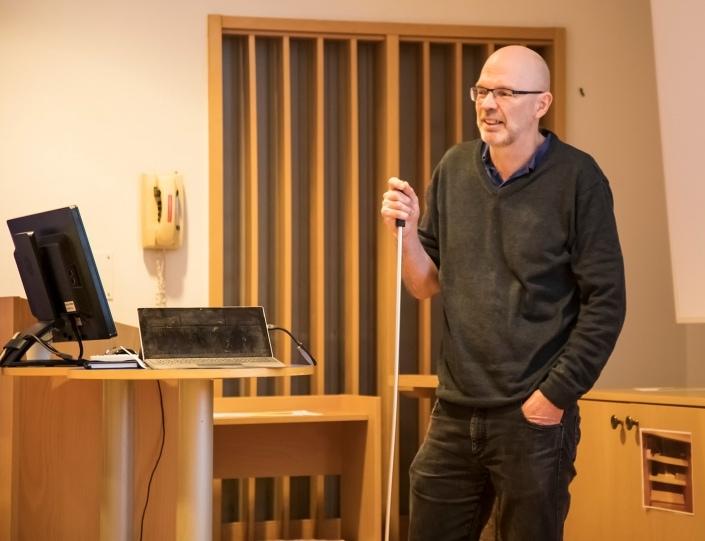 Ola Petersson miljöchef på Stora Enso Nymölla berättar om Nymöllas miljöarbete
