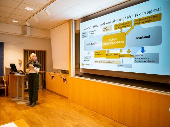 Charlotte Lotta Hauksson WSP berättar om ett spännande projekt runt i kring svensk gårdsfisk