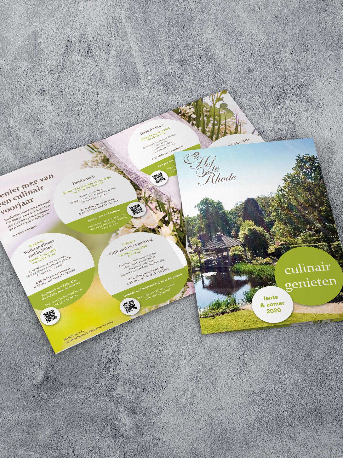 Hof te Rhode Lente-Zomer Brochure 2020