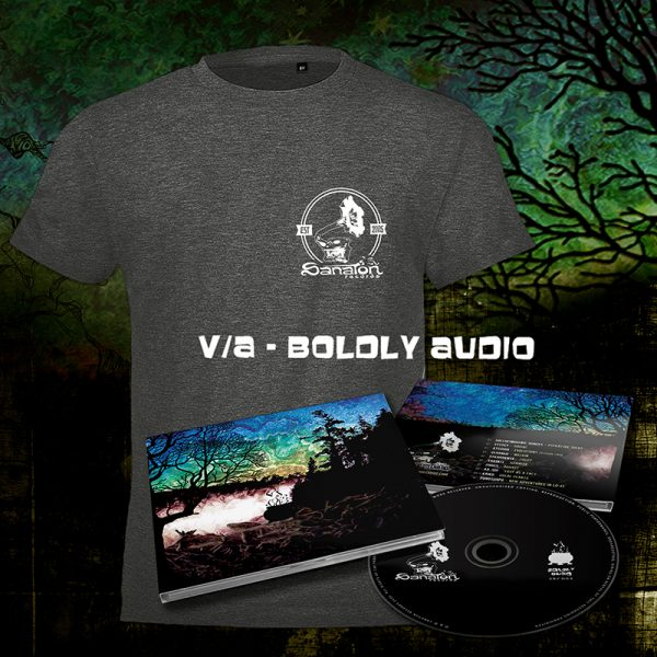 SRCD09+T-Shirt - VA - Boldly Audio (Sanaton 2020)