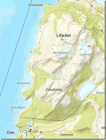 Lifjellkart