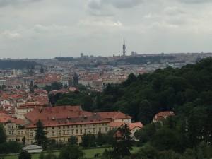 Så er vi i Praha