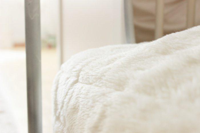 Bett zum kuscheligsten Platz der Welt