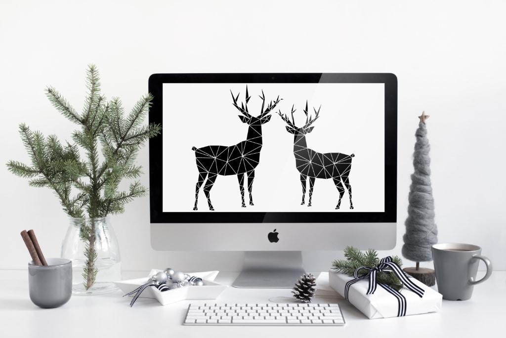 Reindeers Christmas Freebie_sandrawirtz