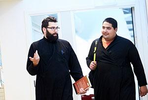 Syriac seminary students