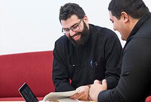 Students of the Syriac-orthodox Seminary