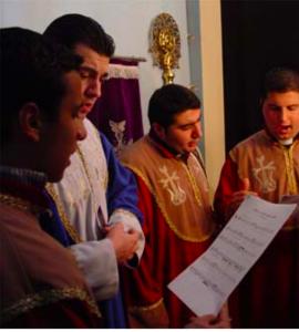 Syriac church choir