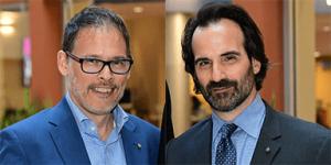 Professor Aristotle Papanikolaou and Professor George Demacopoulos