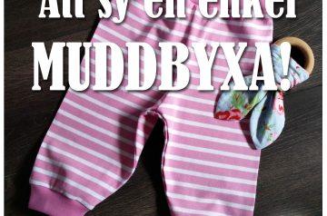 Sy ett par byxor i mjukaste trikå med muddar på bara nio steg