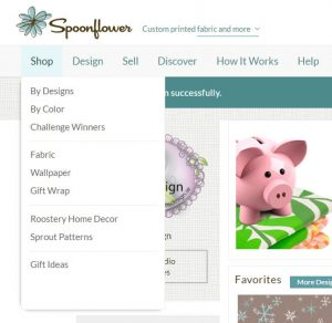 Spoonflower shoppingguide
