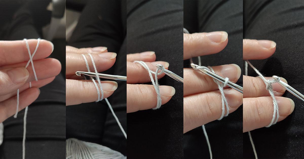 Starta virkandet med en Magisk Ring - så här gör du