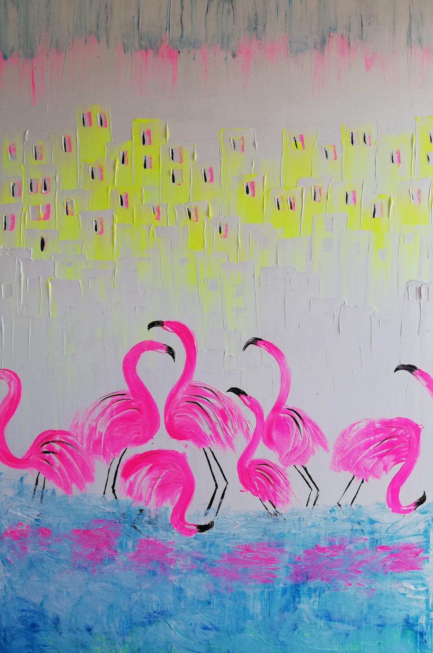 Acryl op Canvas 120*80