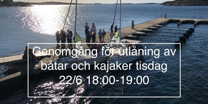 Segling Riggning 22/6-2021
