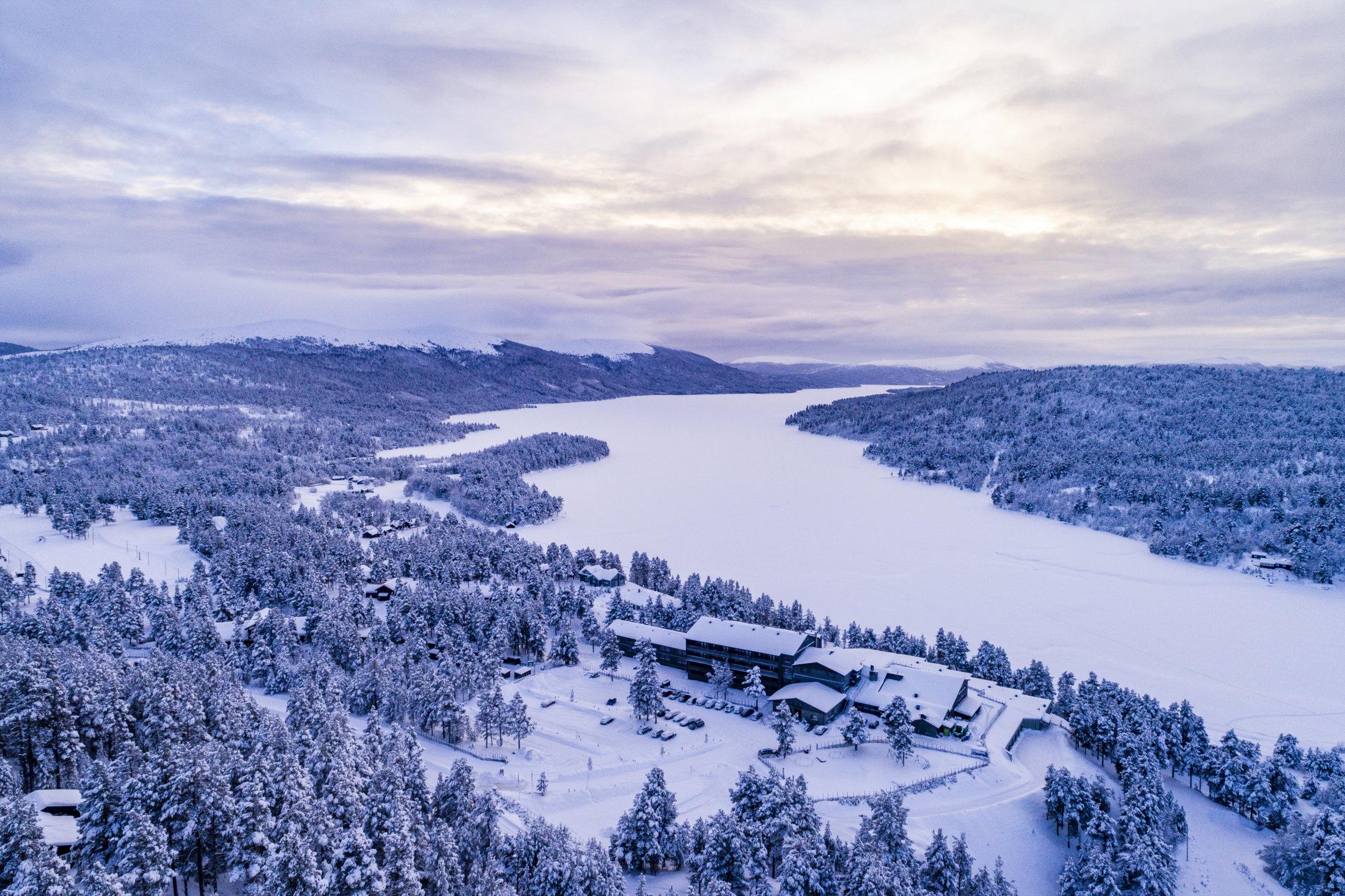 Savalen Fjellhotell & Spa • Vinterstemning