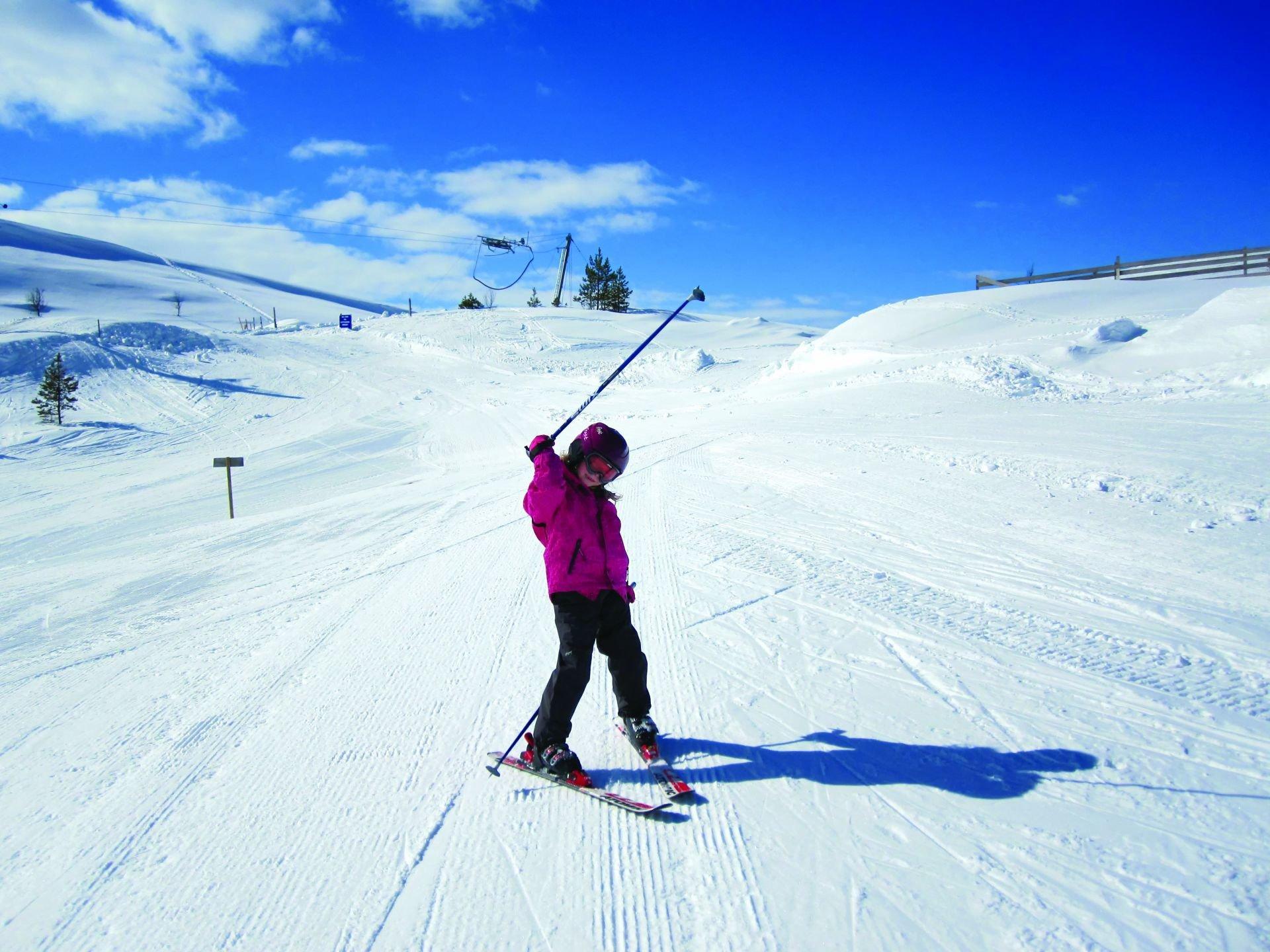 Superstjerna på ski