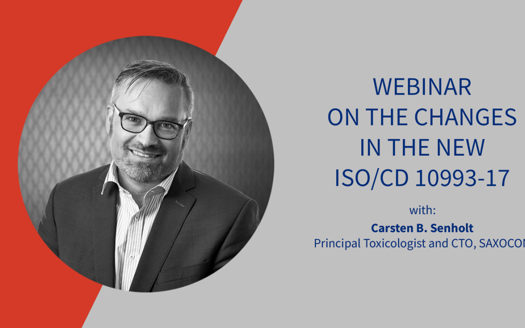 SAXOCON Webinar on ISO 10993-17