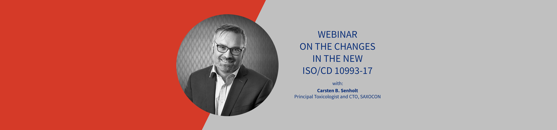 Webinar on the new changes in the new ISO/CD 10993-17