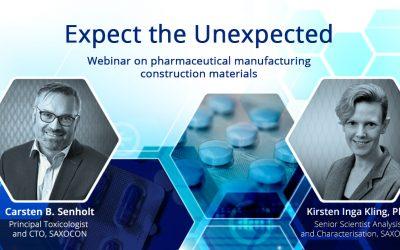 Webinar: Pharmaceutical manufacturing construction materials – Part 2